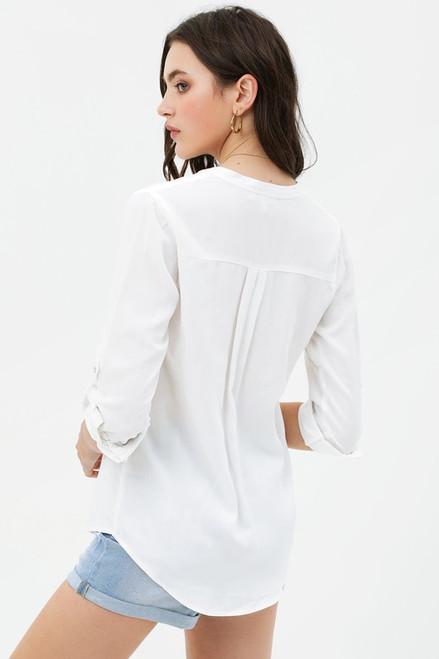 Keep Cool Buttondown - White