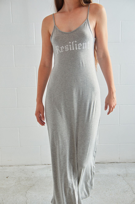 Resilient Dress - Heather Grey