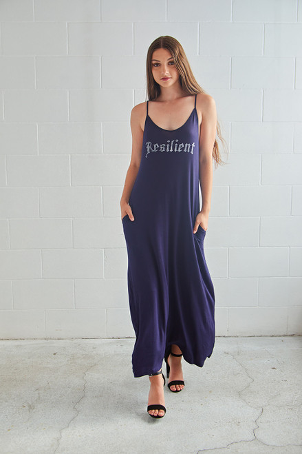 Resilient Dress - Navy