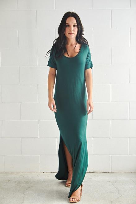 Hampton Dress - Emerald