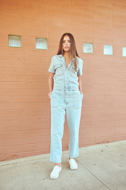 Utility Suit - Denim