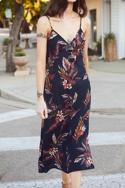 Paradise Slip Dress - Ink