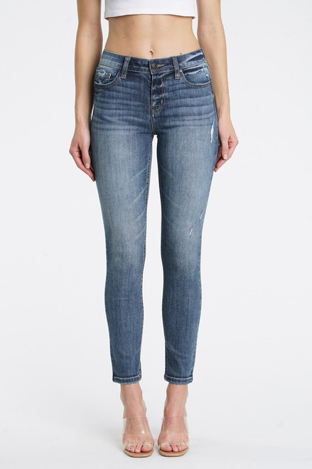 Jude Mid Rise Skinny Ankle - Drama DK