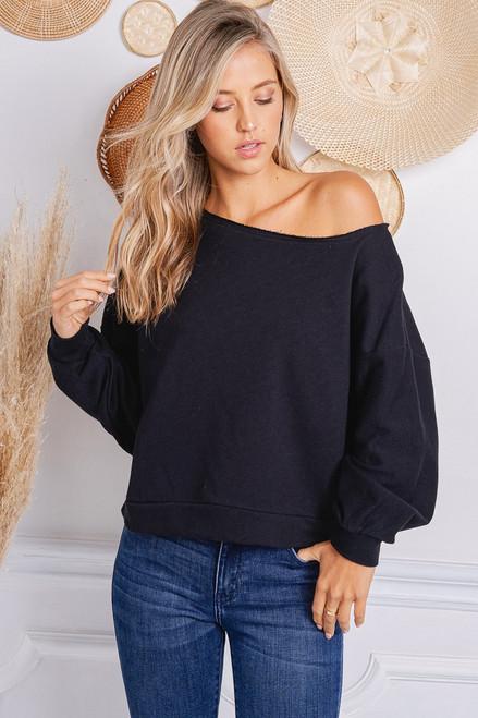 Cora Sweatshirt - Black