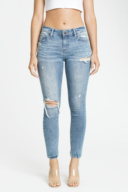 Jude Mid Rise Skinny Ankle - Rebound MD