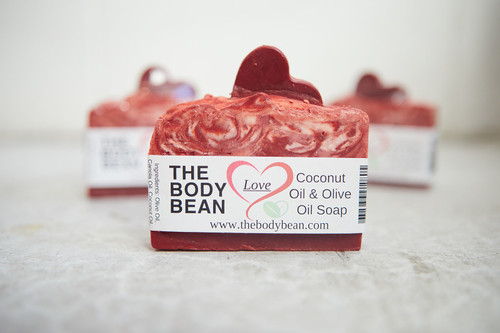 Heart Soap Bar