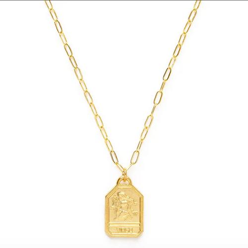 Zodiac Dog Tag Medallion  - Virgo