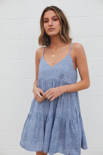 Daisy Blue Dress - Denim