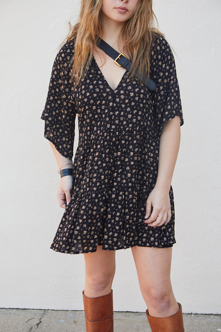 Bombay Boho Dress - Black