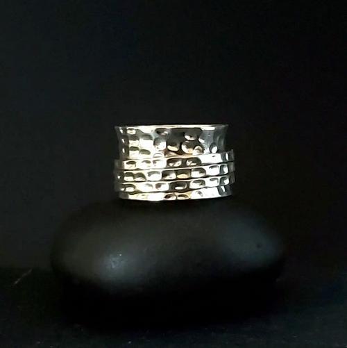 Transcendent Meditation Ring - Sterling Silver