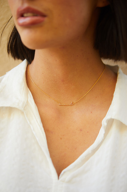 """Mamacita"" Necklace - Gold"