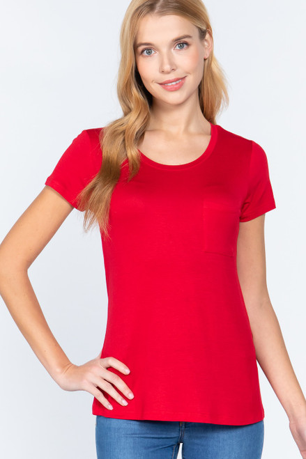 Tuesday Tee - Classic Red