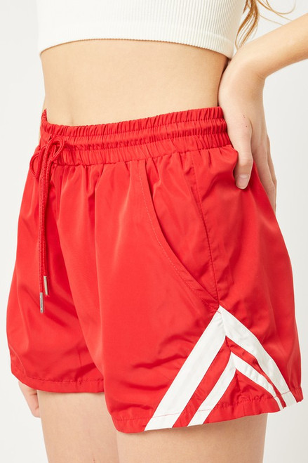 Running Shorts - Red