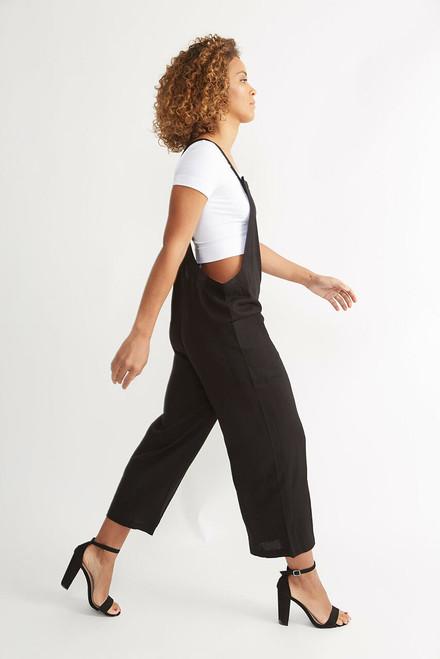 Linen Overalls - Black