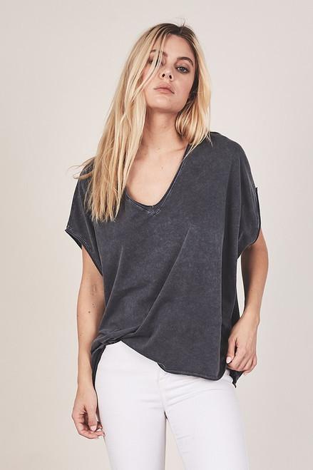 Boxy T-Shirt - Charcoal
