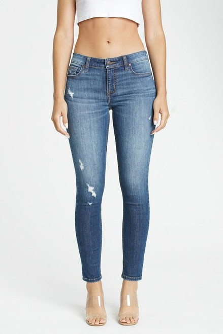 Jude Mid Rise Skinny Ankle - Moon River