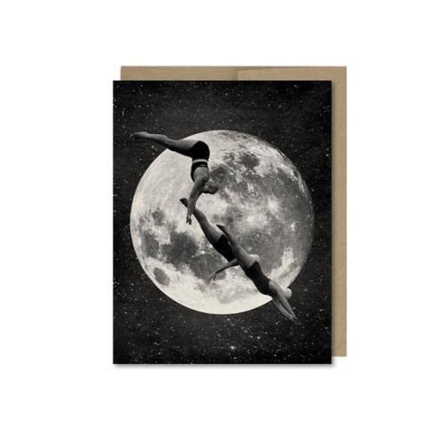 Sky Divers Card