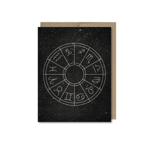 Horoscope Wheel Card