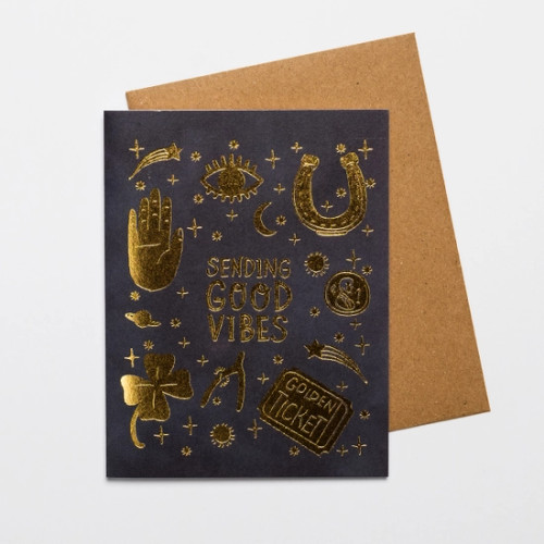 Sending Good Vibes Card