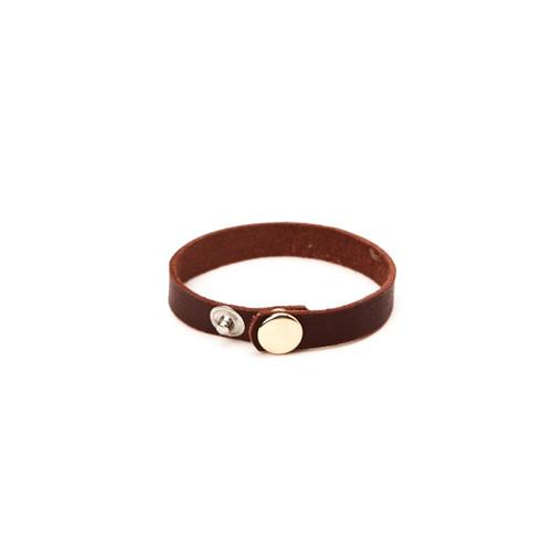 RRL Leather Bracelet - Brown