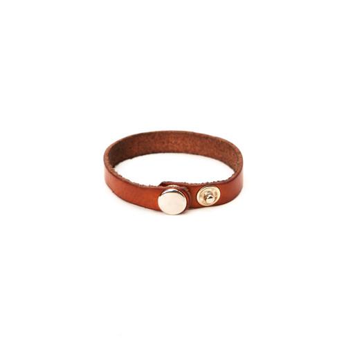 RRL Leather Bracelet - Tan