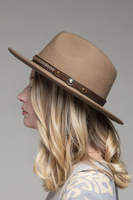 Western Panama Hat - Pecan