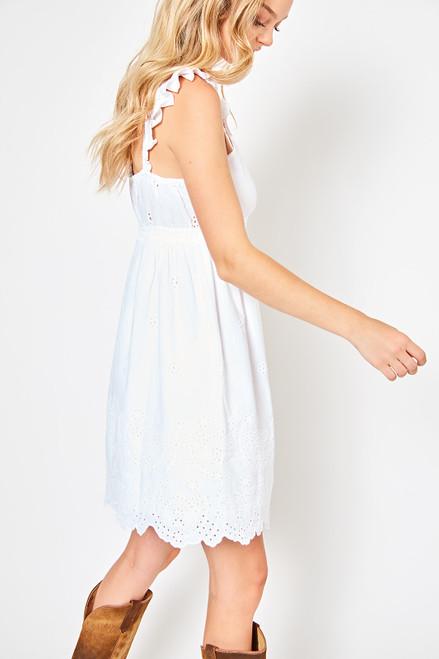 The Waylon Dress - White