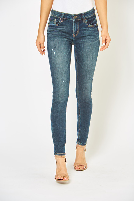 Jude Mid Rise Skinny Ankle - Countdown DK