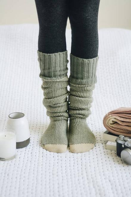 Solstice Socks - Mint
