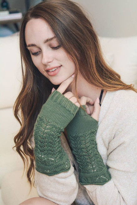North Arm Warmers - Sage