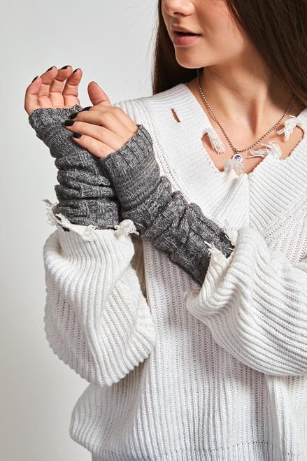 Polar Arm Warmers - Grey