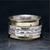 Brass & Sterling Silver Meditation Ring