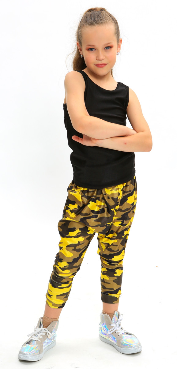 Camo Hip Hop | Yellow