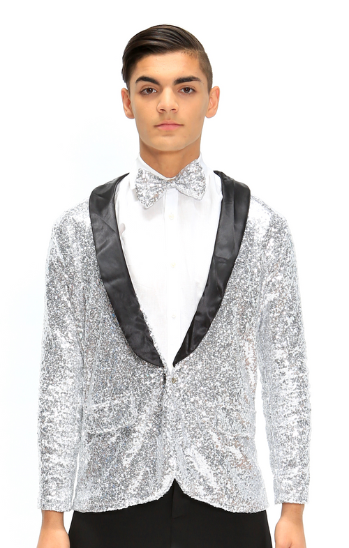 Z | Puttin on the Ritz | Jacket & Tie only | Silver