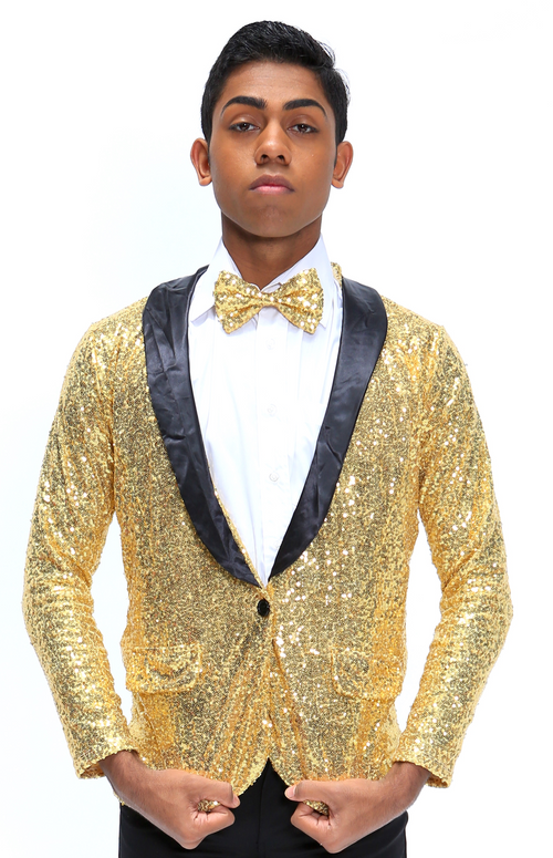Z | Puttin on the Ritz | Jacket & Tie Only | Gold