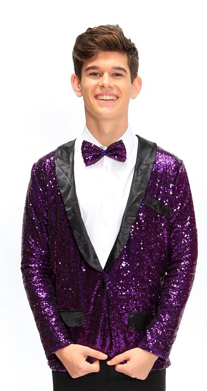 Z | Puttin on the Ritz | Jacket & Tie Only | Purple