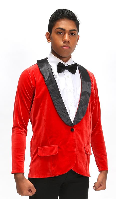 Z | Bond | Jacket & Tie Only | Red