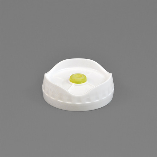 Portion pal medium valve 1-hole dispensing cap