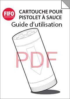 Sauce Gun Bottle User Guide - French
