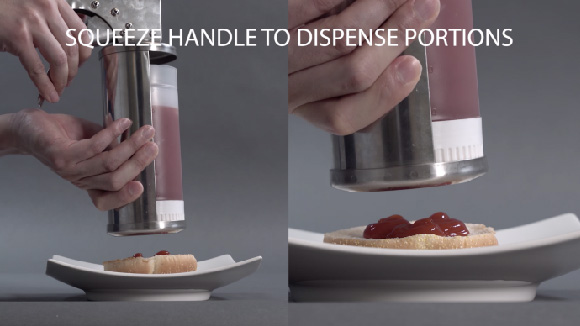 How to dispense sauce with Sauce Gun Bottle