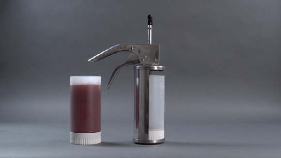 Sauce Gun Bottle Workflow