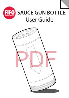 Sauce Gun Bottle User Guide - English