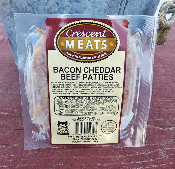 1/3# Bacon Cheddar Patties