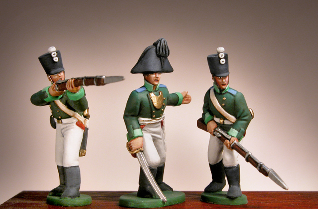 Tin soldier Grenadier of the French Revolutionary Guard 1789 54mm