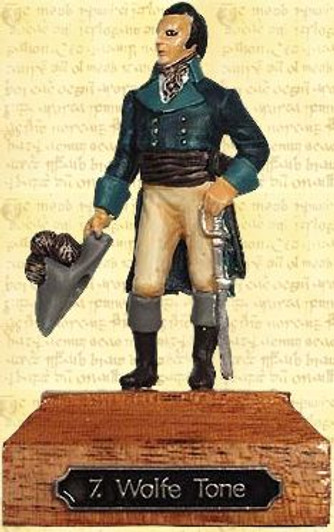 54mm scale Padraig Pearse Painted Pewter Miniature