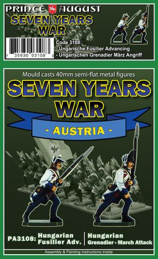 Seven Year War | Russian Musketeers Grenadiers - Summer Uniforms