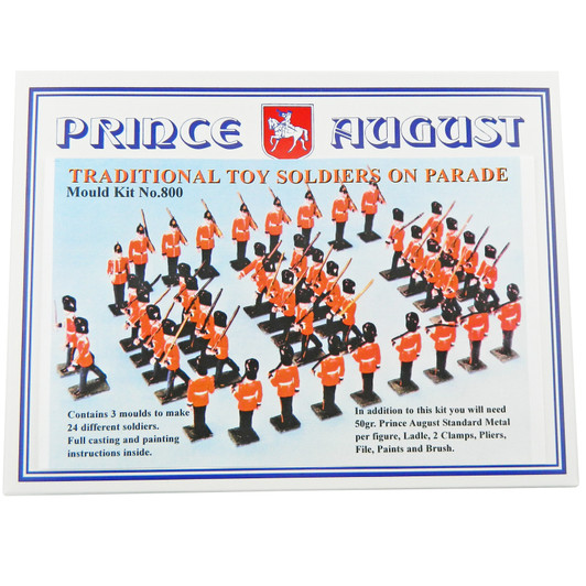 54mm Hobby Casting Moulds | Traditional Toy Soldiers