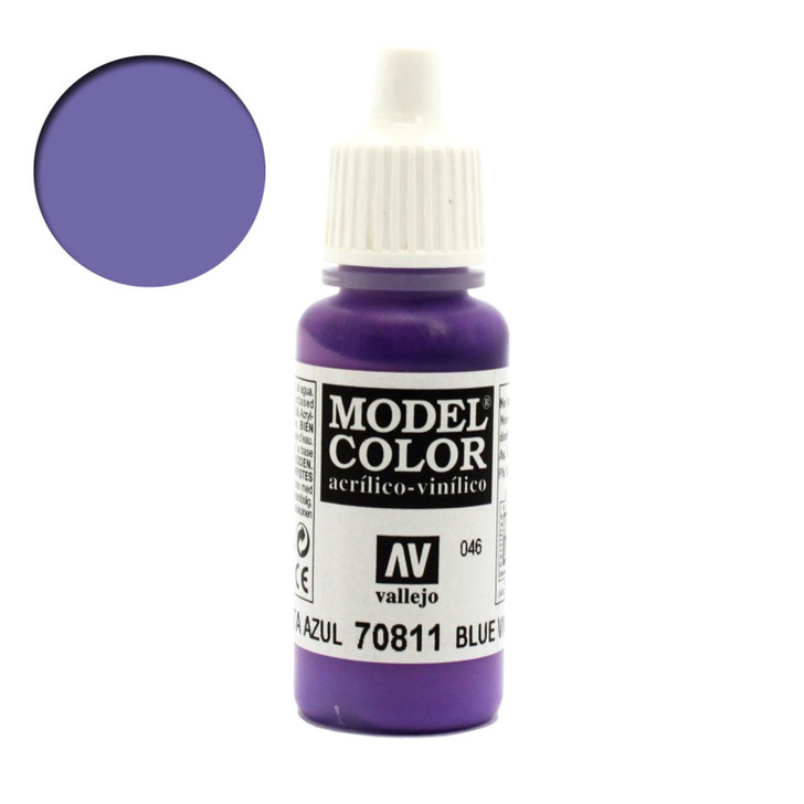 Vallejo Model color Blue Violet Acrylic Paint 70811