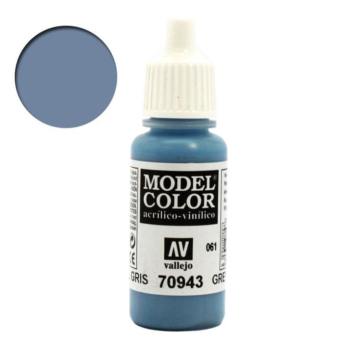 Vallejo Model Color Grey Blue Acrylic Paint 70943