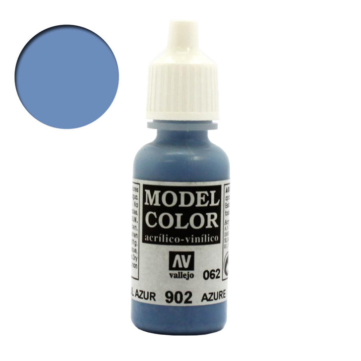 Azure Vallejo Model Color Acrylic Paint 70902